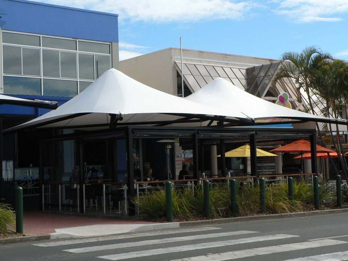 Architectural Awning Structure