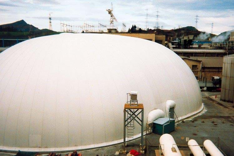 Biogas application