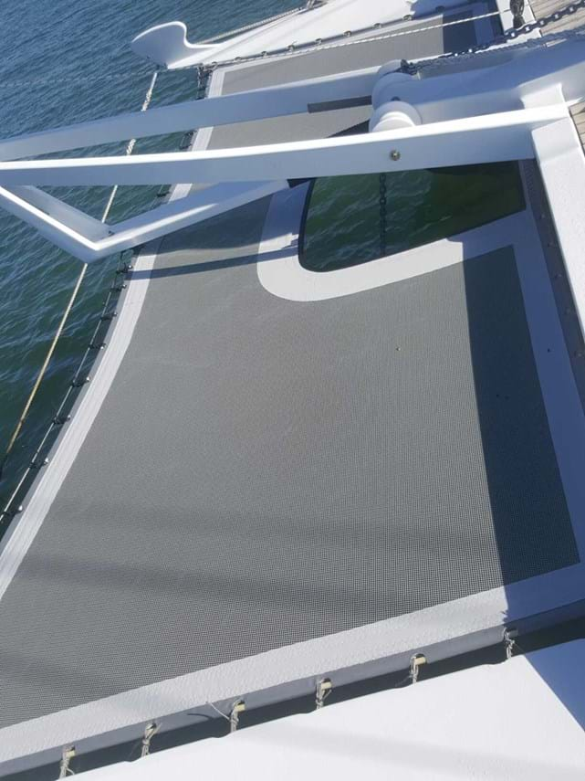 Trampoline Mesh for Catamaran